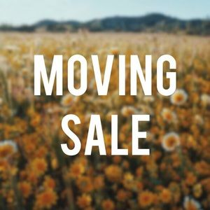🚚 MOVING SALE! (Ends 5/28)